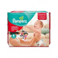 Pack 56 Couches Pampers Easy Up taille 4 sur 123 Couches