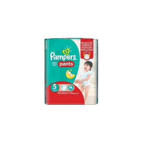 Pack 52 Couches Pampers Baby Dry Pants taille 5 sur 123 Couches