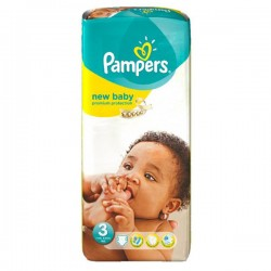 Pack 20 Couches Pampers New Baby Premium Protection taille 3 sur 123 Couches
