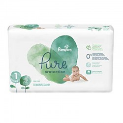 Pack 35 Couches Pampers Pure Protection taille 1 sur 123 Couches