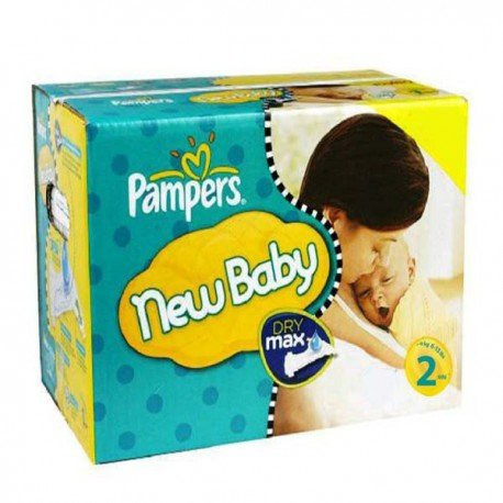 Giga pack 217 Couches Pampers New Baby Premium Protection taille 2 sur 123 Couches