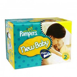 310 Couches Pampers New Baby Premium Protection taille 2 sur 123 Couches