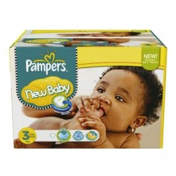 Maxi giga pack 315 Couches Pampers New Baby Premium Protection taille 3 sur 123 Couches