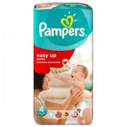 Pack de 42 Couches de la marque Pampers Easy Up taille 4 sur 123 Couches