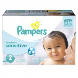 420 420 Couches Pampers New Baby Sensitive taille 2 sur 123 Couches