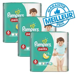 Pack 98 Couches Pampers Baby Dry Pants taille 6