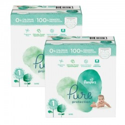 Mega pack 105 Couches Pampers Pure Protection taille 1