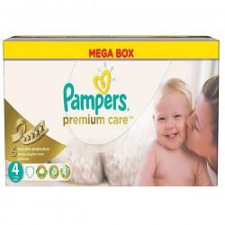 Pack économique de 240 Couches de la marque Pampers Premium Care de taille 4 sur 123 Couches