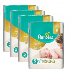 330 Couches Pampers Premium Care taille 5 sur 123 Couches