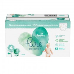 Giga pack 228 Couches Pampers Pure Protection taille 4
