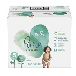 Pack 51 Couches Pampers Pure Protection taille 5