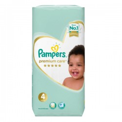 Pack 20 Couches Pampers New Baby Premium Care taille 4 sur 123 Couches