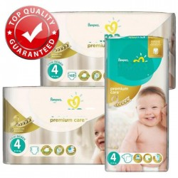 Mega pack 120 Couches Pampers New Baby Premium Care taille 4