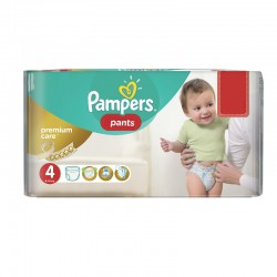 Pack 66 Couches Pampers Premium Care Pants taille 4 sur 123 Couches