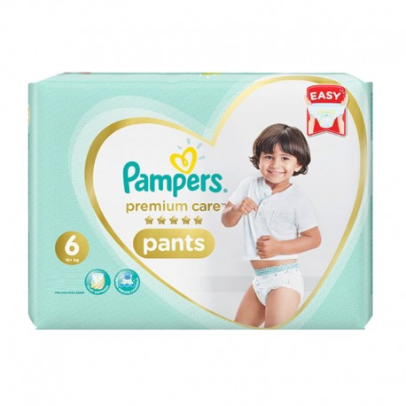 Pack 36 Couches Pampers Premium Care Pants taille 6 sur 123 Couches