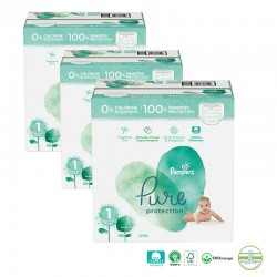 Giga pack 200 Couches Pampers Pure Protection taille 1 sur 123 Couches
