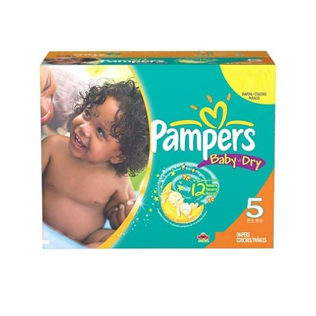 352 Couches Pampers Baby Dry taille 5 sur 123 Couches