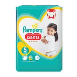 Pack 68 Couches Pampers Premium Protection Pants taille 5 sur 123 Couches