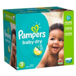 Giga pack 266 Couches Pampers Baby Dry taille 3